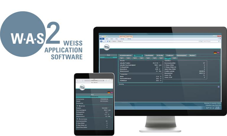WEISS Application Software W.A.S. 2