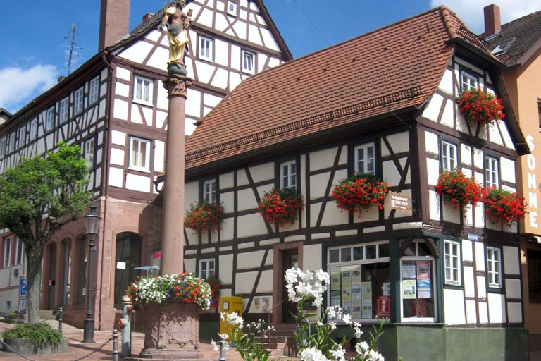Fachwerk in Buchen, Deutschland